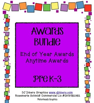 Awards Bundle PreK-3