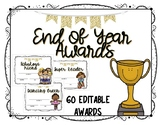 End of Year Awards/ Class Certificates - Editable
