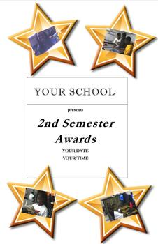 Awards Day Package - 2 programs, 2 flyers, script, certificates, banner & more!