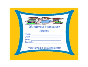 Awards - End Of Year