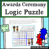 Logic Puzzle for 4th Grade End of Year