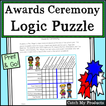 Awards, End of the Year Logic Puzzle About Awards Ceremony