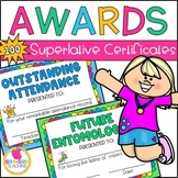 End of the Year Awards   Superlative Certificates