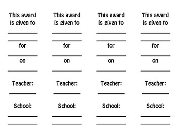 Awards: Hula Award
