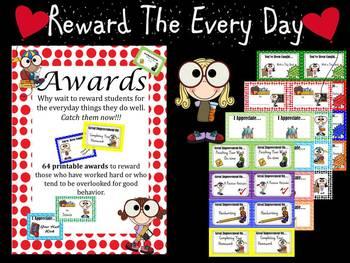 Awards: Reward Positive Behavior and Improvements  **Top Seller
