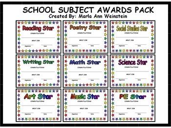 Awards Pack Bundle