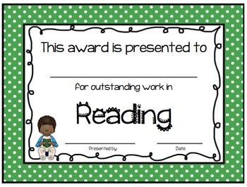 Awards Packet