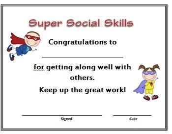 Awards: PreK and Kindergarten