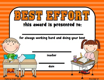 Awards - Printable Certificates for End of Year Recognition - Bundle 2