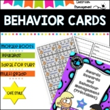 Behavior Management- Awards and Printables