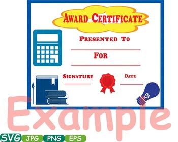 Awards School Clip Art Diplomas Graduation Day Achievement science FINISH -286S
