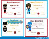 Awards School Super Hero Clip Art Diplomas Graduation Day