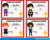 Awards School Super Hero Clip Art Diplomas Graduation Day Achievement -114-
