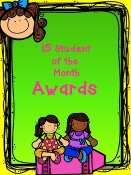 Awards - Student of the Month