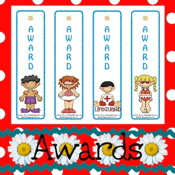 Awards: Water Safety 1