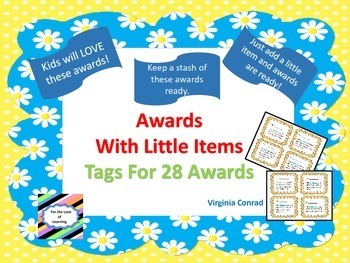 Awards---With Little Items