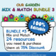 Awards and Brag Tags in Flower & Bugs Theme - 100% Editable