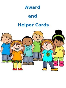 Awards and Helper Cards