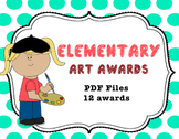 Awards for Art-Chevron inspired-12 pages