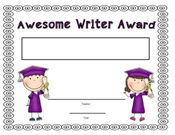 End of School Year {FREEBIE] Graduations Awards for Grades Pre-k-5th