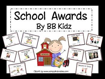 Awards for School