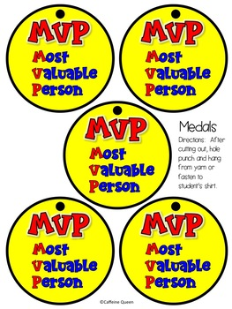 Awards for Students and Staff