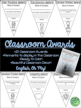 Awards-Pennants, Color, Ready to Print