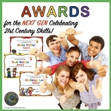 AWARDS:  Celebrating 21st Century Skills!