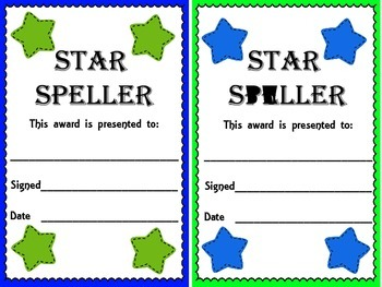 Awards to Use Anytime---End of Quarter, End of Year, or Weekly