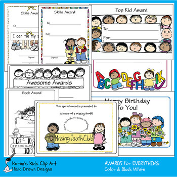 Awards AWARDS FOR EVERYTHING - CLIP ART