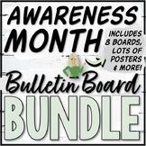 Awareness Month Bulletin Board and Poster Bundle