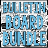 Awareness Month Bulletin Board and Poster Bundle