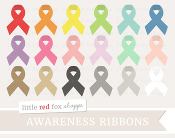 Awareness Ribbon Clipart; Cancer, Health
