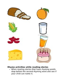 Awareness of Rhyme Activity