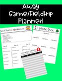 Away Game/Field trip planner