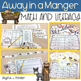 Away in a Manger - Math and Literacy