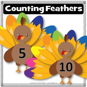 Awe Turkey Feathers COUNTING FEATHERS
