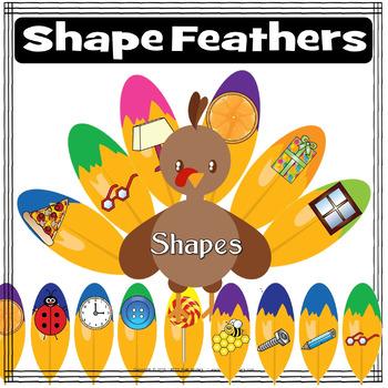 Awe Turkey Feathers: SHAPES