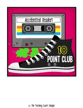 Awesome 80s Accelerated Reader Point Clubs!