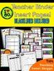Awesome 80s Teacher Organizational Binder!