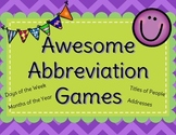 Awesome Abbreviation Games