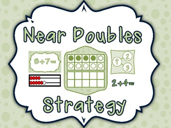 Awesome Addition Near Doubles Strategy Resources