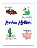 Awesome Adjective Work
