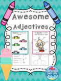 #turkeydeals Adjectives Worksheet / Adjective Activities / Adjectives Practice