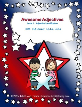 Awesome Adjectives All-in-One Grammar Unit
