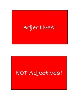 Awesome Adjectives - Common Core Aligned!