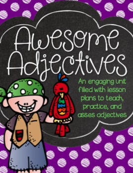 Awesome Adjectives Pack