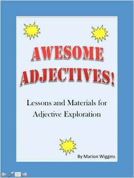 Awesome Adjectives! Types of adjectives and adjective order exploration