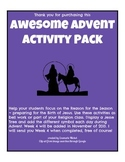 Awesome Advent Activity Pack