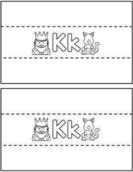 Alphabet Activities: Letters & Sounds Bracelets Aa-Zz!